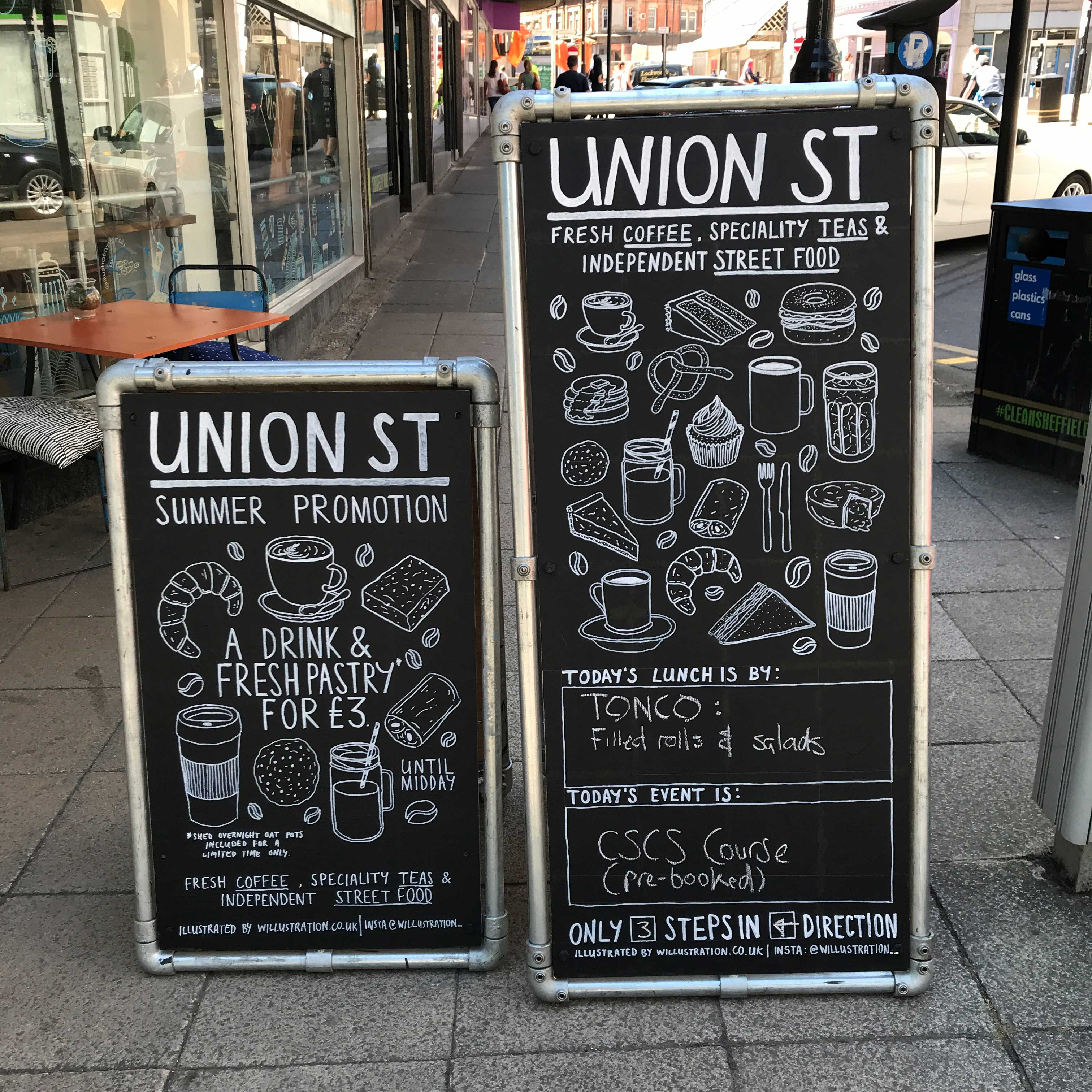UNION ST A-BOARDS
