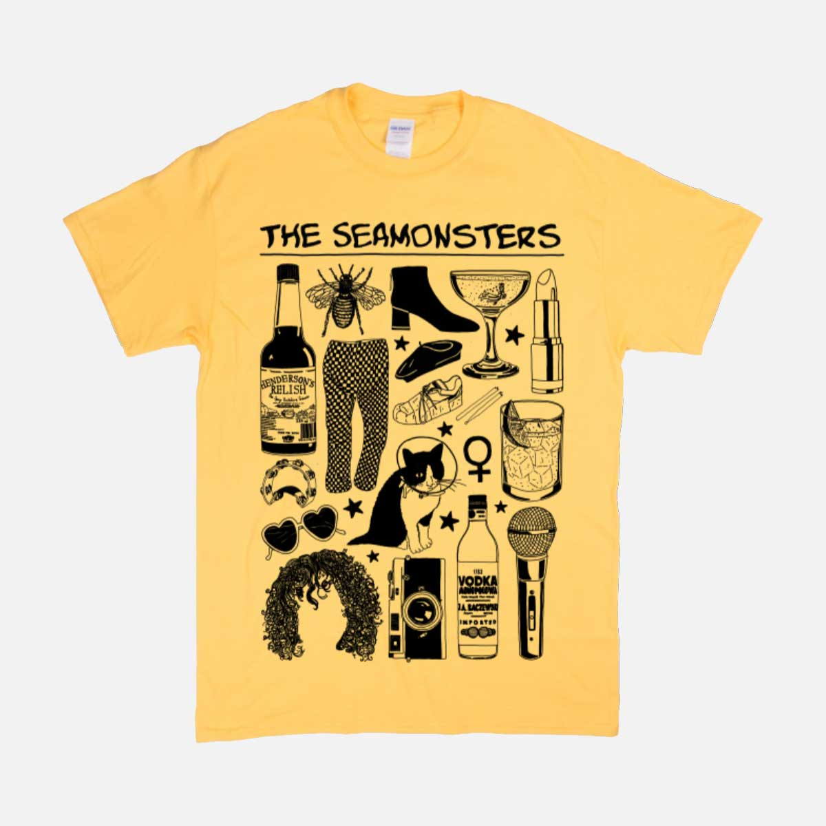 THE SEAMONSTERS TSHIRT